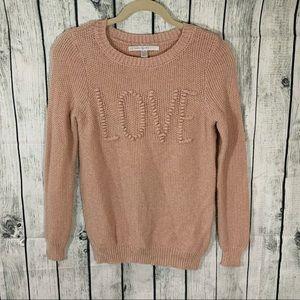 LC Lauren Conrad Love Knit Sweater